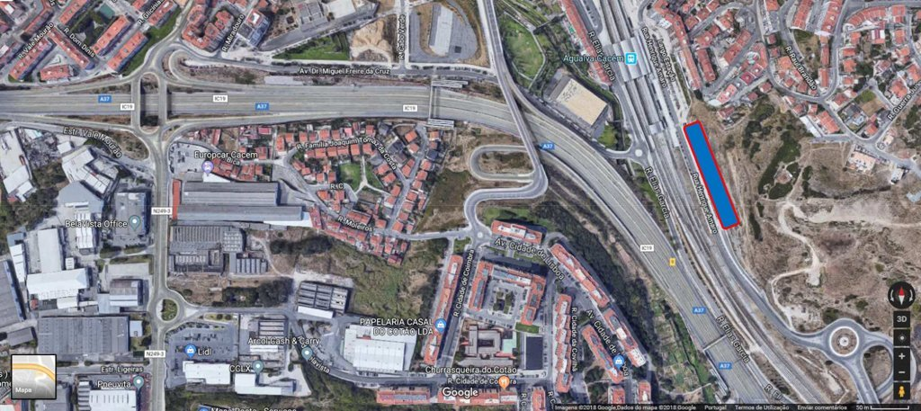 Parque De Estacionamento De Agualva Emes